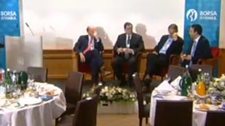 Davos'ta Borsa İstanbul oturumu / CANLI