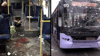 Ukrayna'da otobüs durağında dehşet