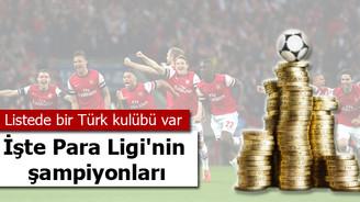 Para Ligi'nin şampiyonları