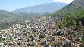 Tarihi Kayaköy'e otel projesine tepki