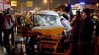Kağıthane'de feci kaza