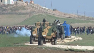 Sınırda Kobani gerginliği