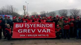 15 bin metal işçisi grevde