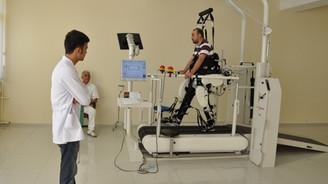 Gazilere sınırsız fizik tedavi hizmeti