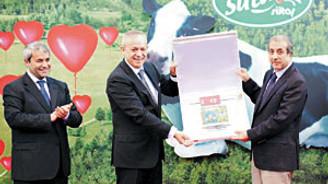 Sütaş, entegre tesisle 1.500 kişiye iş yarattı