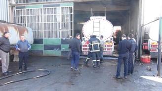 Sanayi sitesinde patlama: 1 ağır yaralı!