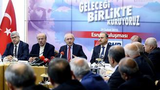 Kılıçdaroğlu esnaf temsilcileriyle bir araya geldi