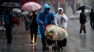 3 il için şiddetli yağış uyarısı