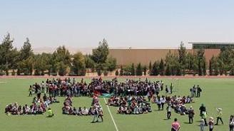 """2136 öğrenci en kalabalık """"özçekim"""" için bir araya geldi"""