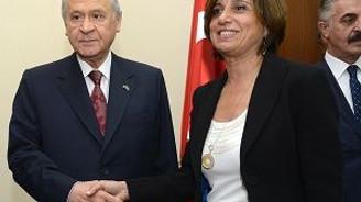 TÜSİAD Yönetim Kurulu heyeti, MHP'yi ziyaret etti