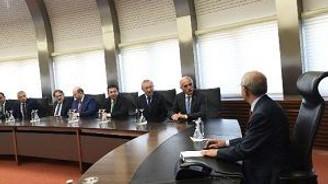 Kılıçdaroğlu, MÜSİAD heyeti ile görüştü