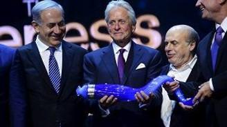 Michael Douglas'a İsrail'den 1 milyon Dolarlık ödül