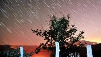 Bursa'da meteor yağmuru