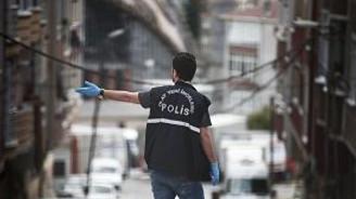 Polis noktasına saldırı anı