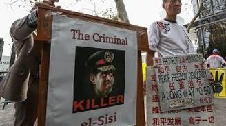 Cumhurbaşkanına BM önünde protesto