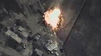 Rusya'nın hava operasyonu görüntüleri