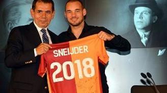 Sneijder'de mutlu son