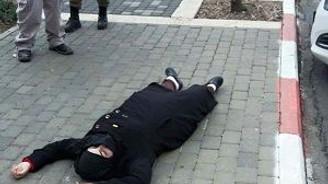 İsrailli güvenlikçiyi bıçaklayacaktı ama!..