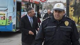 Toplu taşımaya sivil polis denetimi