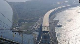 Körfez Geçişi Asma Köprüsü'nde sona yaklaşılıyor