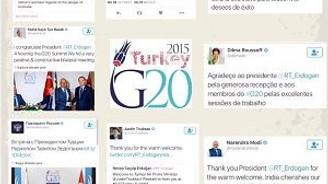 G20 için 1 Milyon tweet!