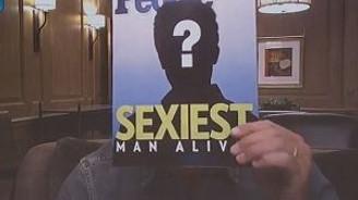 Yaşayan en seksi erkek seçildi!
