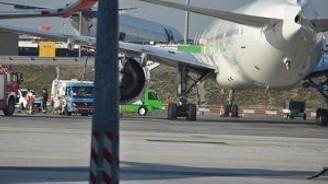 Air France uçağı Atatürk Havalimanı'na acil indi