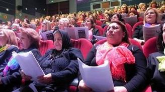 1001 kadından 3 ağıtlık konser