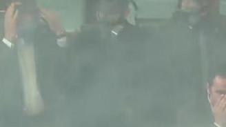 Mecliste gaza maskeli tedbir