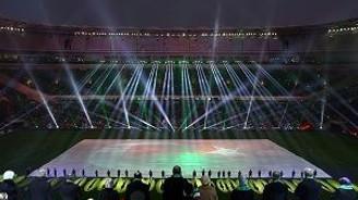 Timsah Arena efsanesi Cumhurbaşkanının vuruşuyla başladı