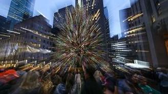 ABD'de muhteşem Noel ışıklandırması örnekleri