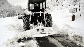 Kar için aparat üretti