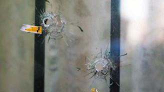 Kahvehane saldırısı güvenlik kamerasında