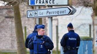Belçika Fransa sınırında kontrol başlattı