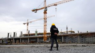 Yeni havalimanı inşaatı son sürat