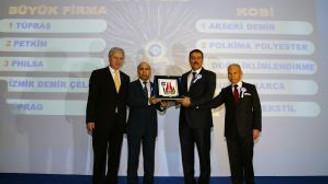 """""""EBSO Başarılı Sanayi Kuruluşları Ödül Töreni"""""""