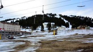 Uludağ'da kar kalmadı