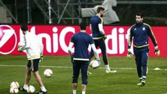 Fenerbahçe, Braga maçı hazırlıklarını tamamladı