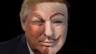 Anonymous Trump'ı hackledi