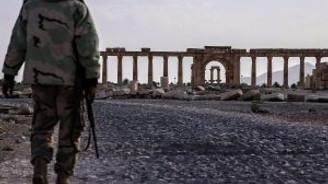 Palmira IŞİD'den kurtarıldı