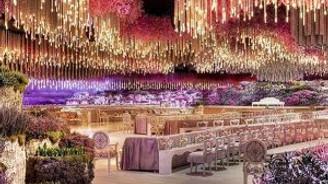 1 Milyar dolarlık düğün yaptı