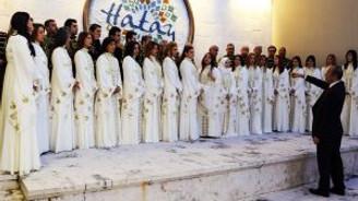 Medeniyetler Korosu BM konserine hazırlanıyor