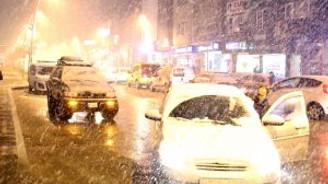 Erzurum'u nisanda da yağmur kesmedi