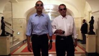 Obama, Obama'nın emekliliğiyle dalga geçti