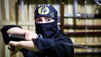 """İran'ın """"Ninja"""" kadınları!"""