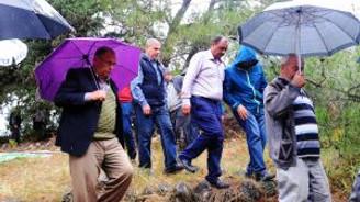 """""""Yağmur Duasında"""" yağmurdan kaçtılar!"""