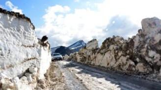 Mayıs Nemrut'un karını eritemedi