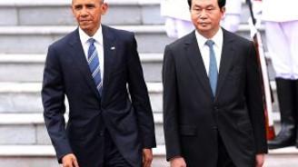 Obama Vietnam'da!