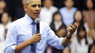 Vietnamlı genç kızdan Obama'ya Rap performansı!