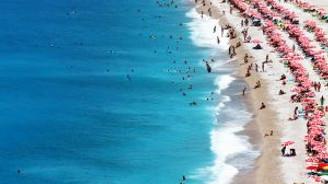 Güney Ege sahillerinde bayram bereketi